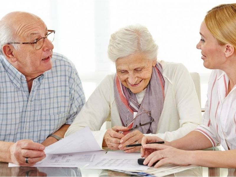 прием и оформление в дом престарелых